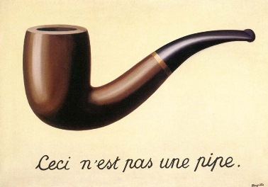 Magritte, the treachery of images