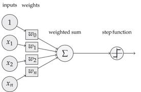 image of simple perceptron